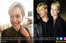 Emilia Clarke Terinspirasi Gaya Brad Pitt Zaman Jebot - JPNN.com