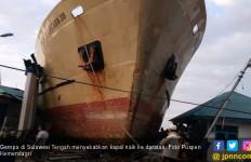 4 Bulan Terdampar, Kapal Sabuk Nusantara 39 Akhirnya Diapungkan Kembali - JPNN.com