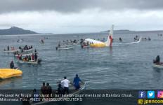 Hujan Lebat, Pesawat Air Niugini Salah Mendarat - JPNN.com