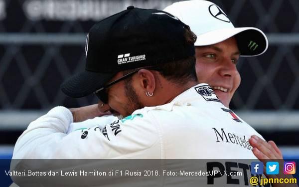 Bottas Pole Position F1 Amerika Serikat, Hamilton Kena Makian - JPNN.com