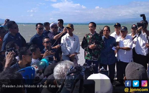 Bantuan Bencana, Jokowi Ditelepon Raja Salman dan Morrison - JPNN.com