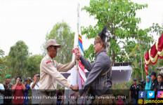 Doa Bersama Peserta Kirab Pemuda untuk Bencana di Sulteng - JPNN.com