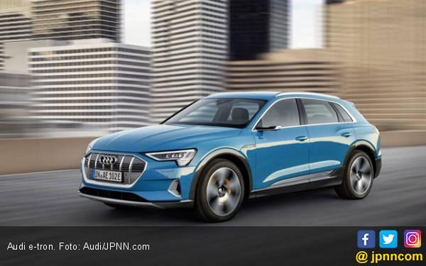 Ribuan Audi E-Tron Kena Recall Karena Masalah Baterai - JPNN.com