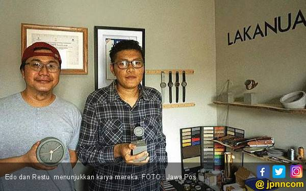Duet Ciptakan Jam Berbahan Semen - JPNN.com