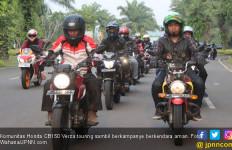 100 Rider Honda Verza Menyebar Virus Berkendara Aman - JPNN.com