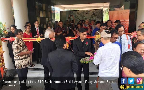Tingkatkan Mutu Pendidikan, STP Sahid Resmikan Gedung Baru - JPNN.com
