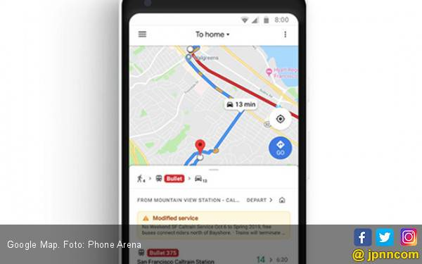 Versi Google Maps Baru Dibekali Fitur Musik - JPNN.com