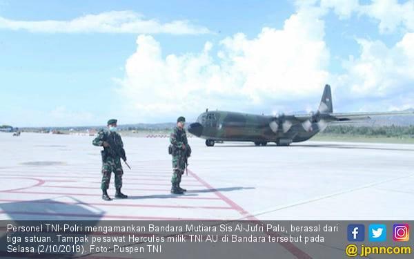 Bandara di Palu Mulai Beroperasi, Prioritas Buat Pesawat TNI - JPNN.com