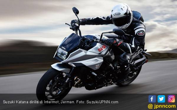 Sudah Bisa Dipinang, Harga Suzuki Katana Rp 184 Jutaan - JPNN.com