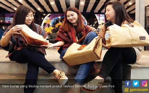 Cantik dengan Kain Burlap - JPNN.com