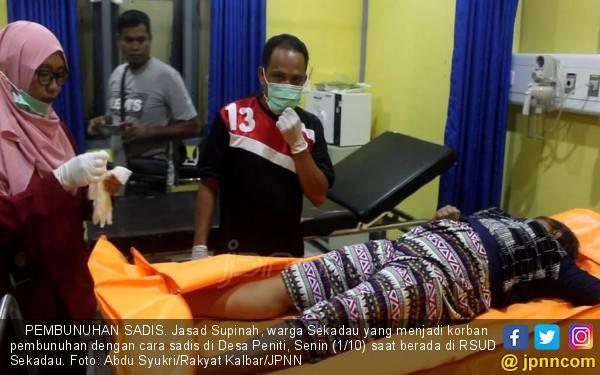 Bu Supinah Dibunuh Secara Sadis di Rumah, Astaga Kondisinya - JPNN.com