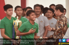 Jamu Timnas U-16, Jokowi Berpesan soal Gaya Hidup - JPNN.com
