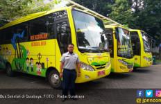 Makin Banyak Bus Sekolah di Surabaya - JPNN.com