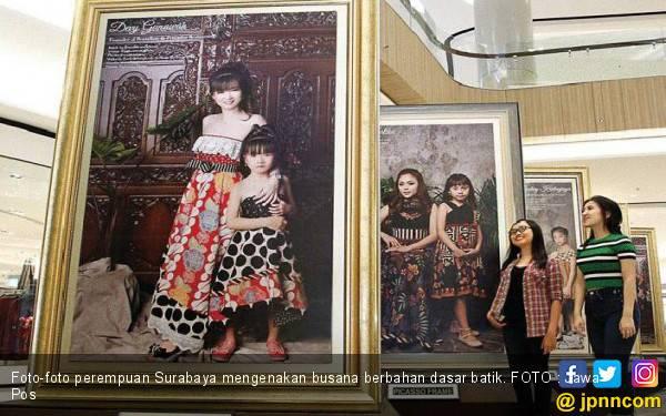 Perempuan Surabaya dalam Balutan Batik - JPNN.com