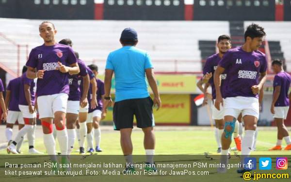 Respons PT LIB Soal PSM Minta Ganti Rugi Tiket Pesawat - JPNN.com