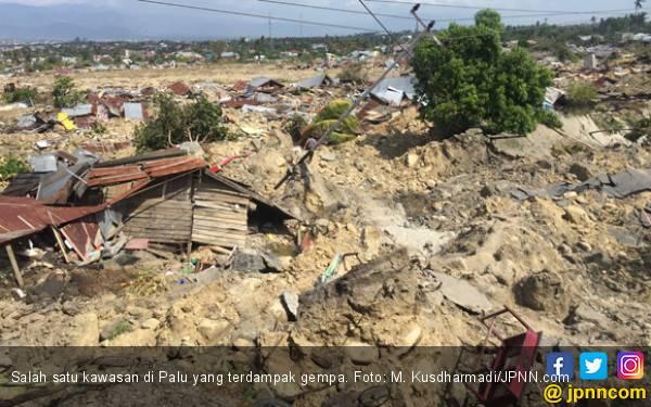 Dilanda Gempa dan Tsunami, Kerugian Ekonomi Rp 18,48 Triliun - JPNN.com