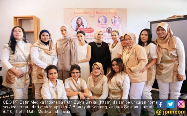 Z Beauty Tawarkan Makeup Artist Service Bagi Wanita Milenial - JPNN.com