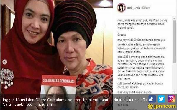 Terseret Kasus Ratna Sarumpaet, Dorce: Modusnya Luar Biasa - JPNN.com