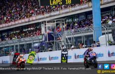Podium di MotoGP Thailand, Vinales Beber Perkembangan M1 - JPNN.com