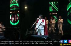 Pesan Rhoma di Synchronize Fest: Tanpa Musik Dunia Tak Asyik - JPNN.com