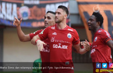 Komentar Marko Simic Usai Cetak 4 Gol Lawan Borneo FC - JPNN.com