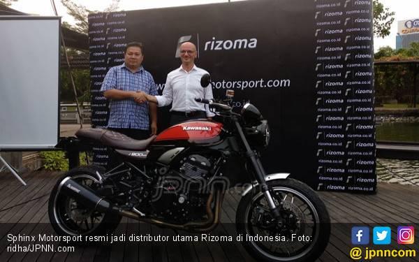 Sphinx Motorsport Umumkan jadi Distributor Resmi Rizoma - JPNN.com