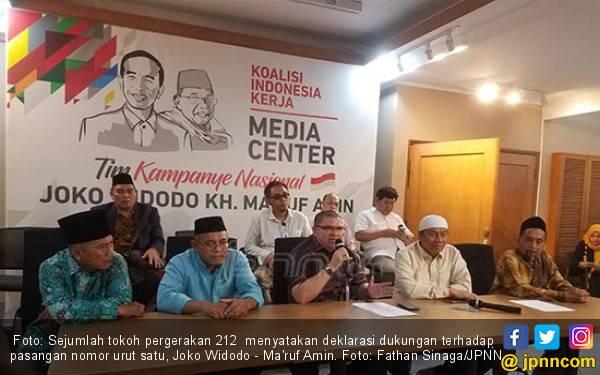 Para Mantan Gerakan 212 Kini Dukung Jokowi - Ma'ruf - JPNN.com