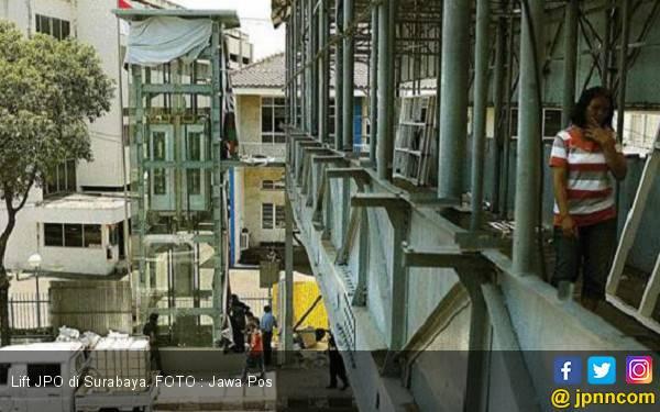 Lift di JPO Siap Beroperasi - JPNN.com