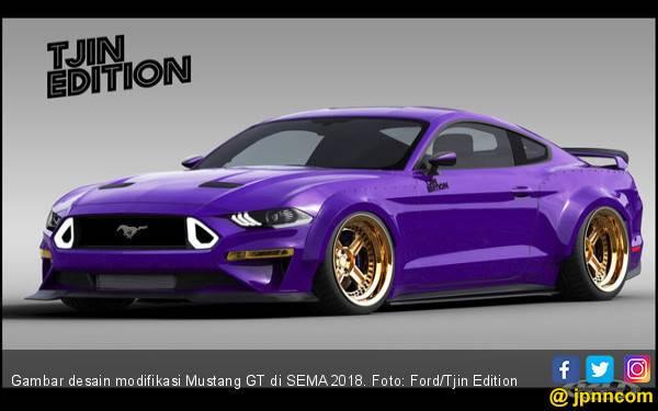 Modifikasi Mustang GT Bersiap Getarkan Las Vegas - JPNN.com