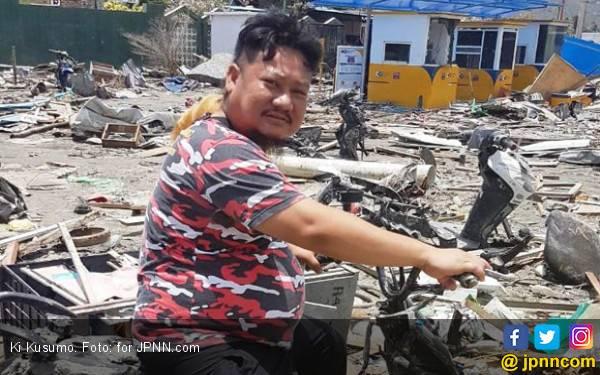 Cerita Pilu Ki Kusumo Sepulang dari Sulteng, Oh Anak Itu - JPNN.com