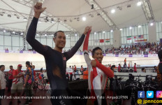 M Fadli Catat Sejarah Emas dari Velodrome Baru - JPNN.com