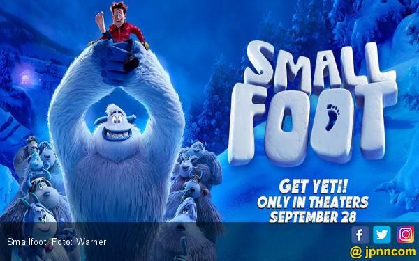 Smallfoot: Kisah Manusia dari Sudut Pandang Yeti - JPNN.com