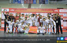 Universitas Brawijaya Melaju ke LIMA Futsal Nationals 2018 - JPNN.com
