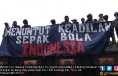 Bandung Melawan, Suporter Persib Ajukan 5 Tuntutan ke PSSI - JPNN.com