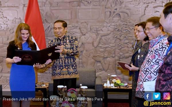 Jokowi Merasa Satu Visi dengan Yayasan Bill Gates - JPNN.com