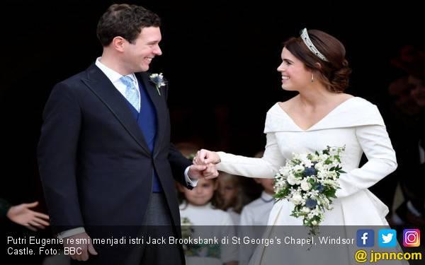 Diprotes Rakyat, Pernikahan Putri Eugenie Tetap Meriah - JPNN.com