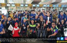Kontingen Asian Para Games 2018 Mulai Tinggalkan Indonesia - JPNN.com
