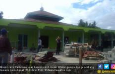 Gelombang Tsunami Hanya Lewat di Atas Kubah Masjid Jami - JPNN.com