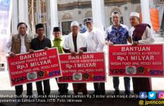 Menhub Serahkan Bantuan Rp 3 Miliar untuk Masjid dan Ponpes - JPNN.com