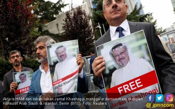 Intel Turki Kirim Bukti Pembunuhan Khashoggi ke CIA - JPNN.com