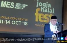Tutup Pameran Kuliner, Kiai Ma'ruf Serukan Halal is My Life - JPNN.com