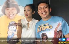 Istri Semringah Sambut Kebebasan Augie Fantinus - JPNN.com