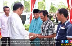 Presiden Jokowi Lihat Langsung Pembangunan RISHA di NTB - JPNN.com