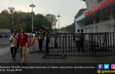 Indonesia Vs Taiwan: Suasana Stadion SUGBK Belum Ramai - JPNN.com