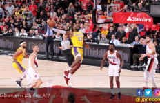 Blazers Nodai Debut LeBron James Bersama LA Lakers - JPNN.com