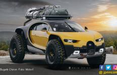 Keren! Lihat Nih Bugatti Chiron Disulap Jadi SUV - JPNN.com