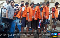 9 Pelaku Pengeboran Minyak Ilegal di Batanghari Ditangkap - JPNN.com