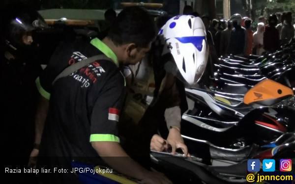 Pembalap Liar Pilih Terjun ke Sungai daripada Dibekuk Polisi - JPNN.com