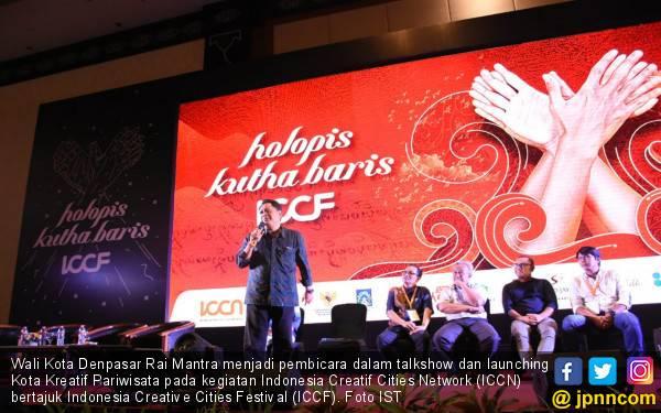 Walkot Denpasar: Ekonomi Kreatif Penggerak Sektor Pariwisata - JPNN.com