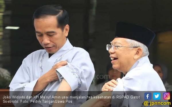 Survei Sasbuzz: Jokowi - KH Ma'ruf Sangat Dominan di Medsos - JPNN.com